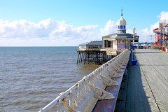 Photo of Down the north pier at Blackpool