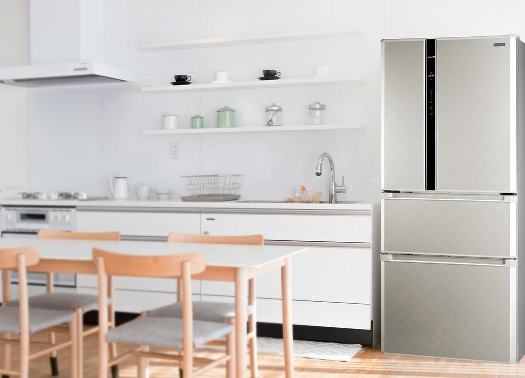 5-鮮靜美智能變頻電冰箱 雙節能科技結合大容量完美保鮮年菜