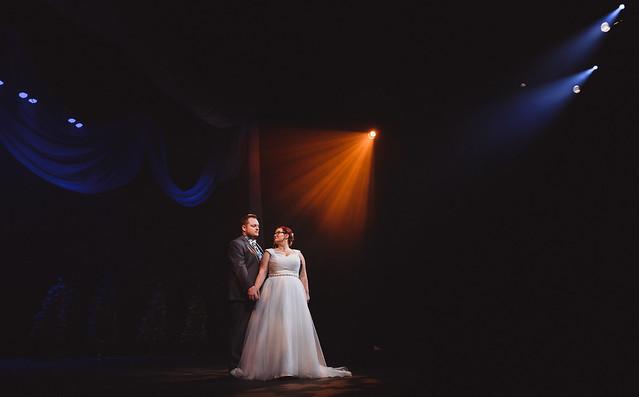 Catherine & Ian  // Sarnia, Ontario // Sarnia Imperial Theatre // Wedding