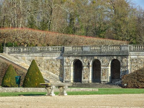 Jardin du château de Vaux-le-Vicomte