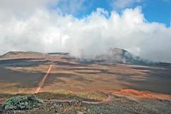 La plaine des sables au Piton de la Fournaise (Île de la réunion)