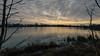 Altocumulus clouds over Gunwade Lake - Ferry Meadows, Nene Park, Peterborough, UK-2