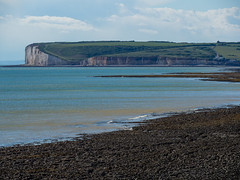 View from the beach at the Birling Gap - UK