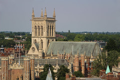 Photo of St Johns College Chapel Cambridge