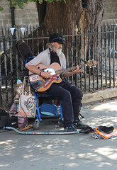 Photo of Cambridge Busker