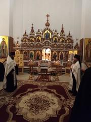 Праздник Крещения в монатыре 6