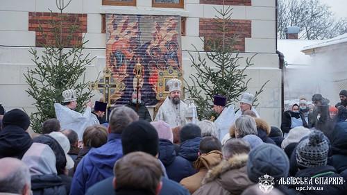 18-19.01.21 - У день Богоявлення митрополит Філарет очолив богослужіння в Георгіївському соборі Львова