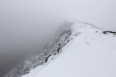 Photo of Scar Crags, North Western Fells, Lake District National Park, Cumbria, UK, in snow