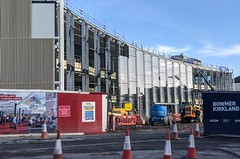 Photo of New social building at the UCLan in Preston