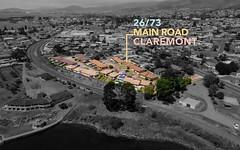 26/73 Main Road, Claremont TAS
