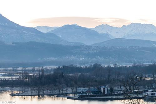 Lac du Bourget, Savoie, Alpes