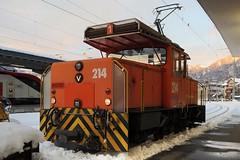 Chur Station RhB - Ge 3/3 214