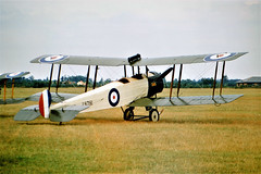 Photo of D8781 (G-ECKE) 1994 Avro 504K replica RAF White Waltham 08.96