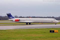 Photo of Scandinavian Airlines (SAS) - LN-RLR - Manchester Airport (MAN/EGCC)