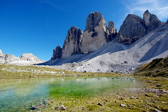 "Tre Cime <a style=""margin-left:10px; font-size:0.8em;"" href=""http://www.flickr.com/photos/28350447@N06/50857322046/"" target=""_blank"">@flickr</a>"