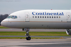 Photo of Continental Airlines - N41135 - Manchester Airport (MAN/EGCC)