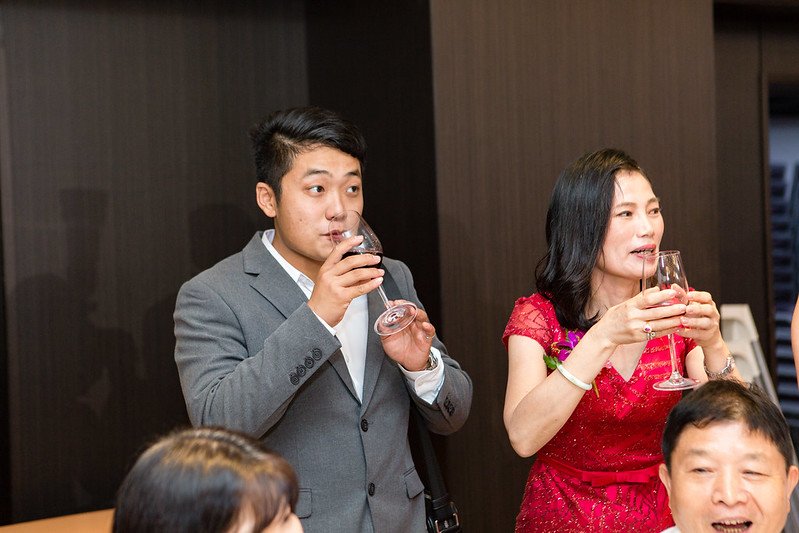 [婚攝] 一起見證他們愛情開花結果的婚禮 北投亞太飯店婚禮紀錄 | 證婚午宴