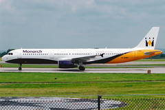 Photo of Monarch Airlines | Airbus A321-200 | G-OZBG | Manchester International