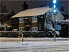 Cheadle Hulme snow January 2021