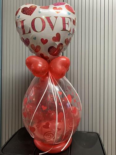 Kadoballon Valentijnsdag