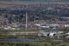 Photo of Northampton aerial image - Sixfields Reservoir, National Lift Tower & Franklin's Gardens