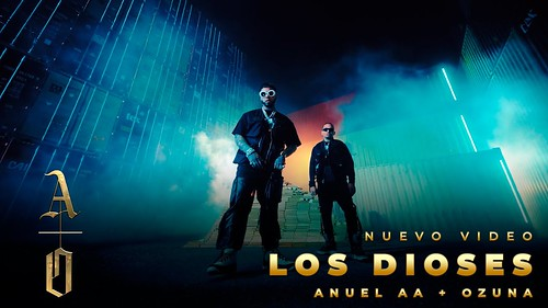 Los Dioses Anuel AA y Ozuna - Los Dioses (Official Video) image