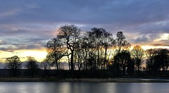 Photo of Sunset, Larbert Loch, Larbert, Scotland.