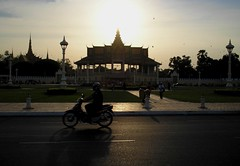 Moonlight Pavillion Royal Palace Phnom Penh Cambodia