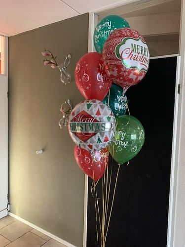 Ballonboeket Kerst