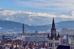 Grenoble skyline