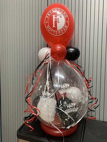 Kadoballon Verjaardag Feyenoord Rotterdam Voetbal