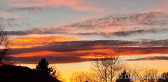 January 15, 2021 - Gorgeous sunset in Broomfield. (David Canfield)