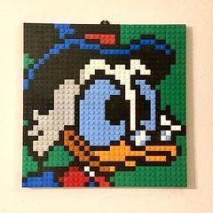 Scrooge McDuck Mosaic