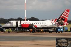 Photo of Loganair Saab SF340B, G-LGND, 'Spirit of Sandy'