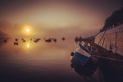 Photo of Sunrise at Portree harbour