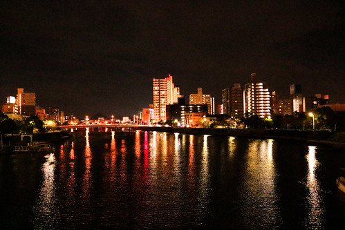 Hiroshima at night