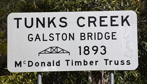 Galston Bridge, Galston Gorge, Dural, Sydney, NSW.