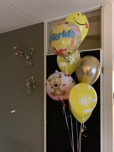 Ballonboeket Sterkte Beterschap