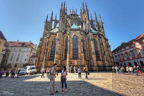 Saint Vitus Cathedral (II). Prague