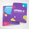 Presentation folder printers in Pembrokeshire Tenby and Narberth for ATEB Haverfordwest. Call today on 01646 682676 for more information.