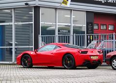 2011 Ferrari 458 Italia 4.5 V8