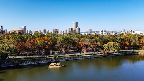 View on Osaka