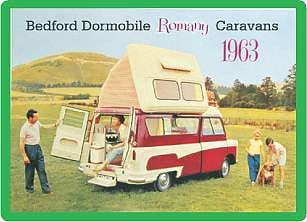 Bedford Dormobile advert