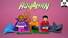 Aquaman Figbarf [DC Comics Minifigs #18]