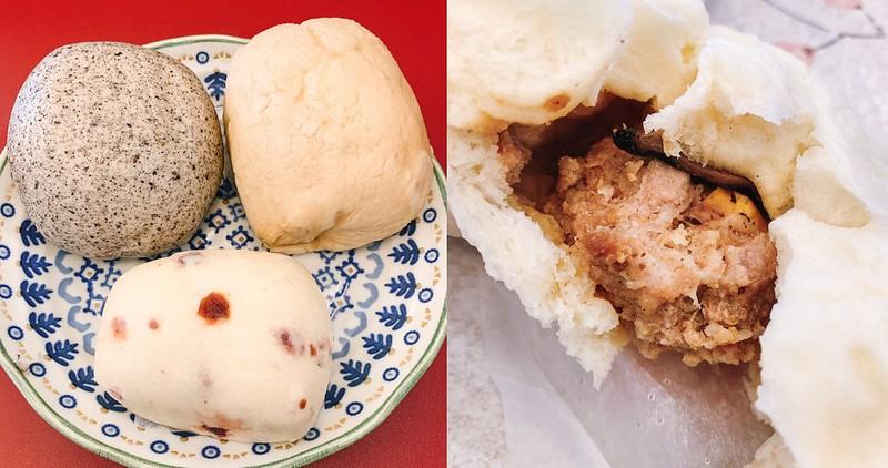 【台南美食】台南古早味包子 東寧路老店~ 香菇蛋黃肉包.紅豆包.蔓越梅.黑糖饅頭都好吃!