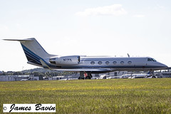 Photo of N77FK  Gulfstream IVSP