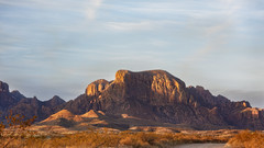 Chisos from Grapevine Rd