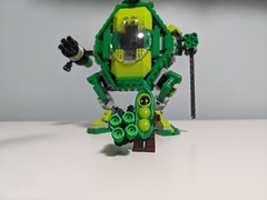 Pea Girl and the Pea Mech
