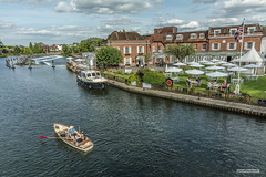 Photo of Taken from Marlow Bridge, Marlow Weir and