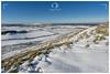 Traprain, East Linton, East Lothian / Scotland (UK) - January 24, 2021: Traprain Law (220m) in Winter.